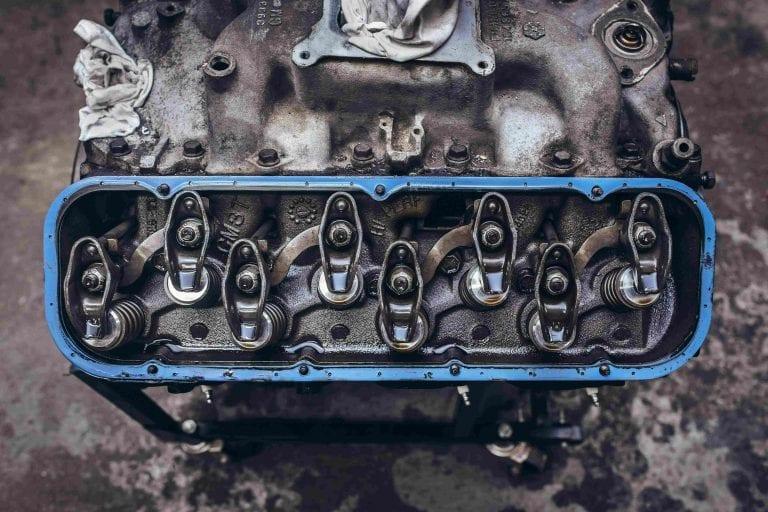 Motorschaden zerlegten Motor