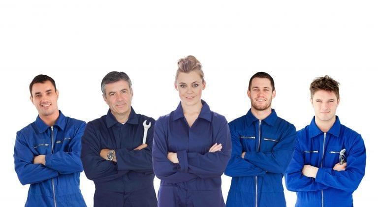 Mechaniker Profis für Motorschaden