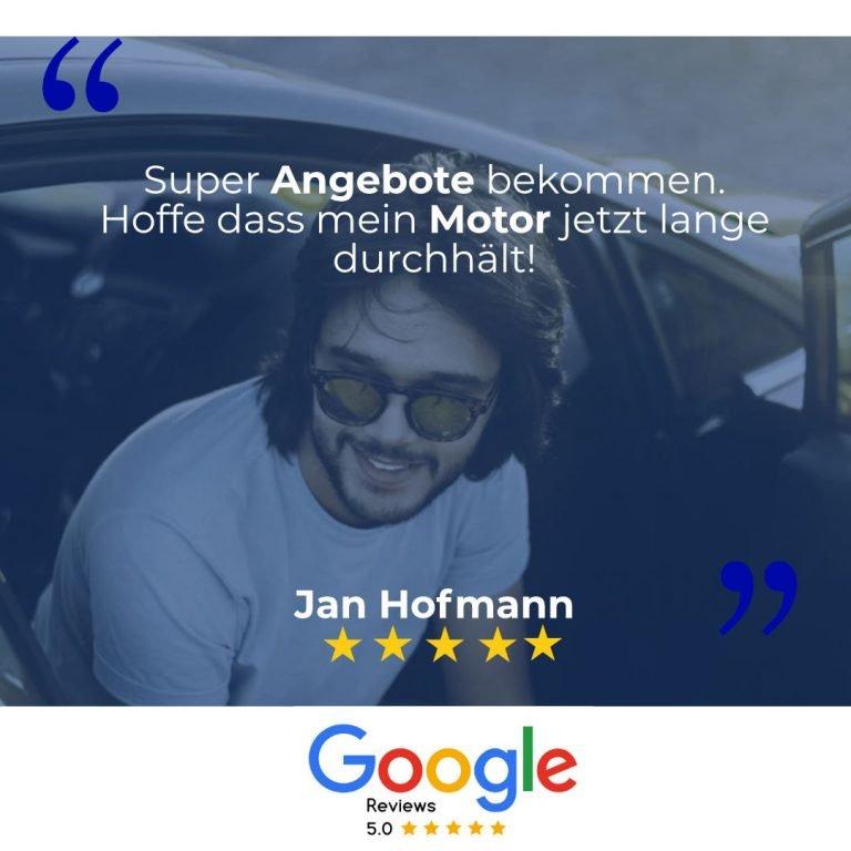 Bewertung von Jan Hofmann