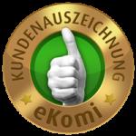 Ekomi Bewertung Siegel