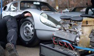Motor ausgebaut und repariert